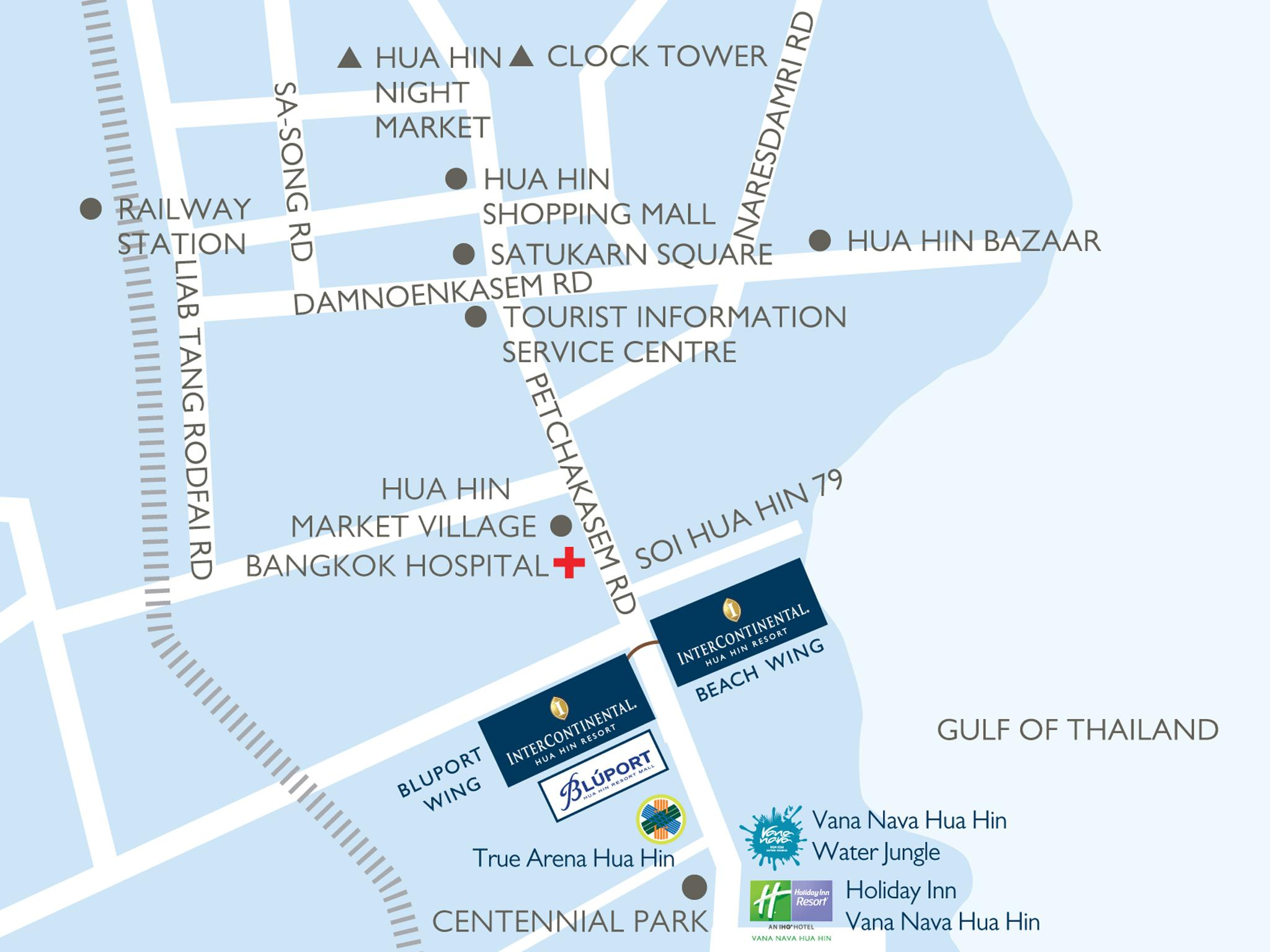 Best Price on InterContinental Hua Hin Resort in Hua Hin Chaam