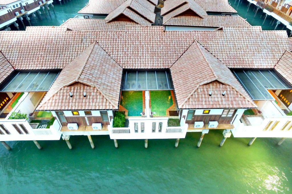 Aerial view Grand Lexis Port Dickson
