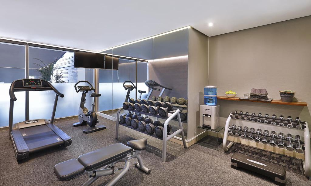 Fitness center Cape Town Marriott Hotel Crystal Towers