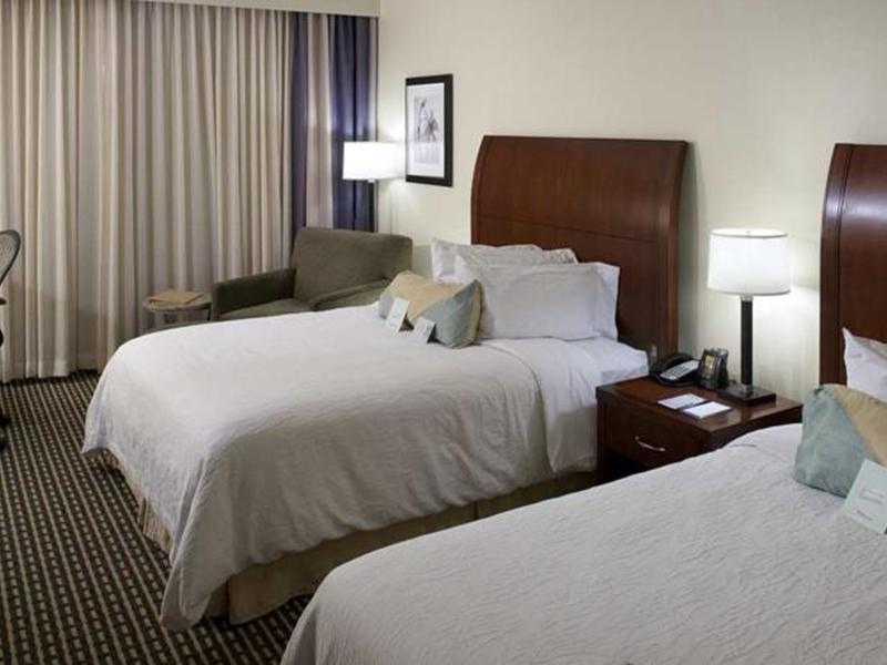 2 Queen Beds Hilton Garden Inn Denver Downtown