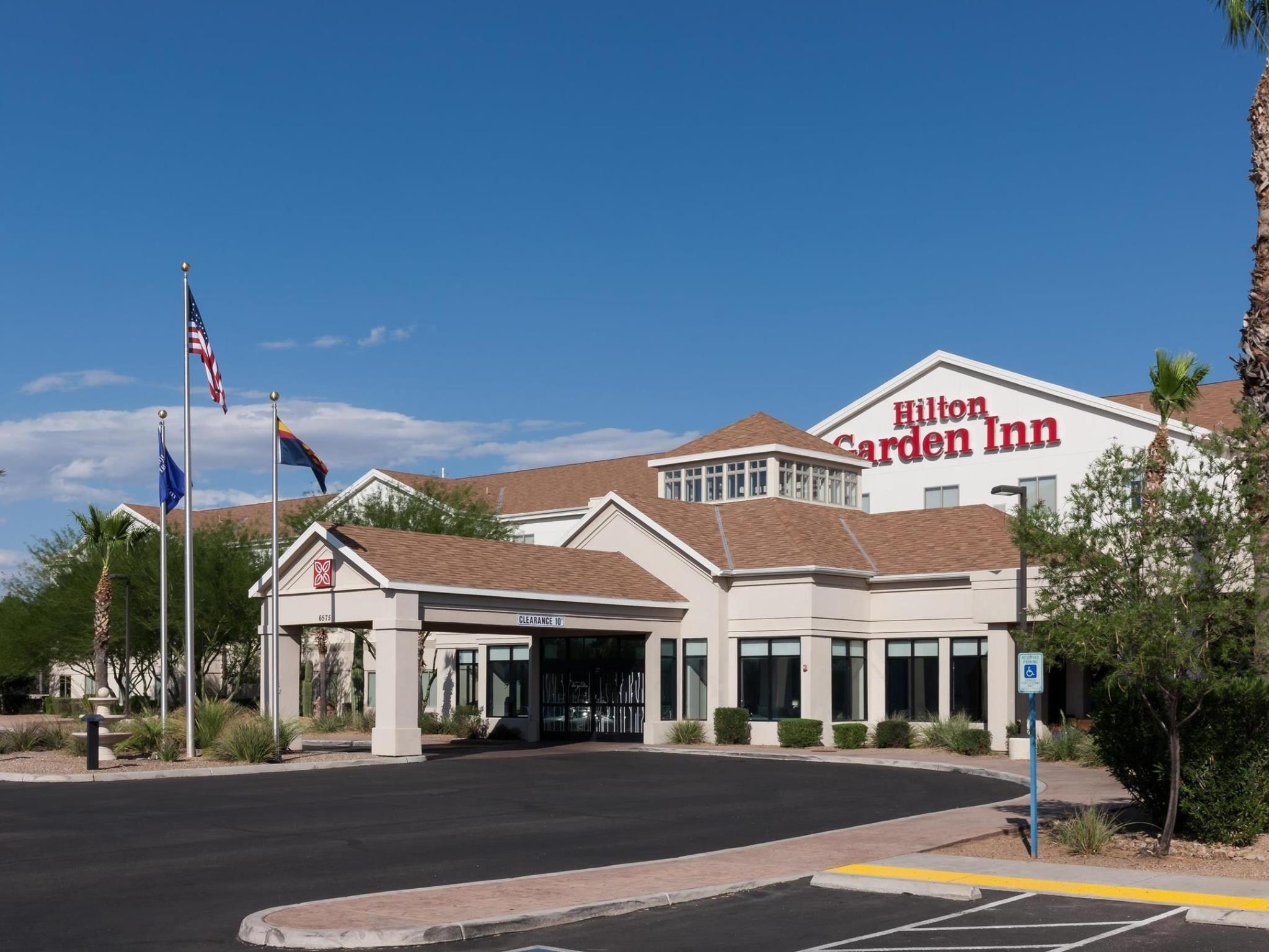 Das Hilton Garden Inn Tucson Airport In Tucson Az Buchen