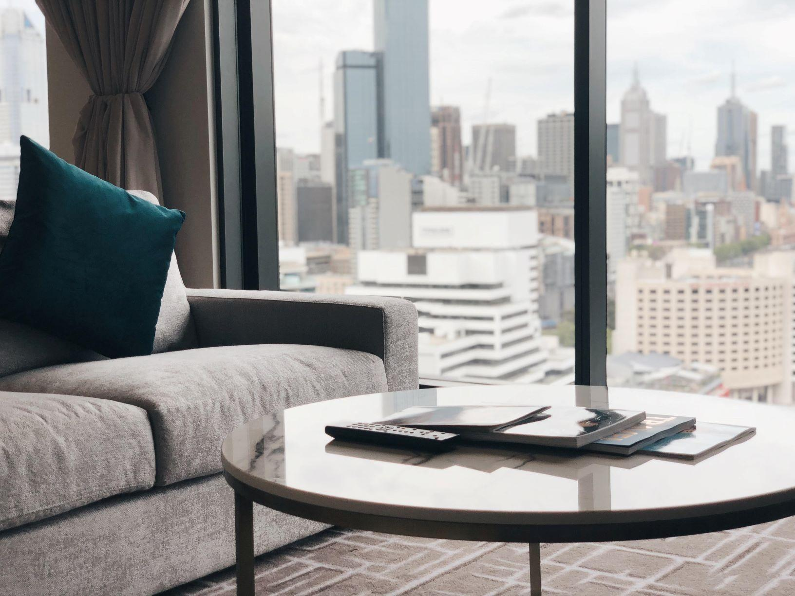 2-Bedroom City Skyline View Suite