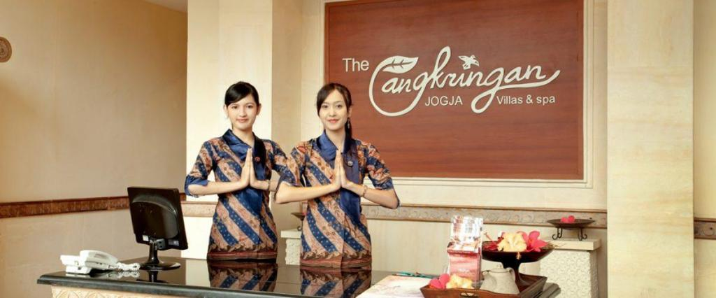 Lobi The Cangkringan Jogja Villas & Spa
