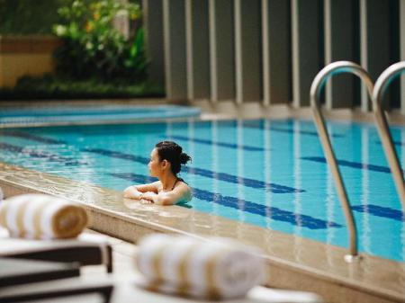 Swimming pool [outdoor] Intercontinental Residence Saigon