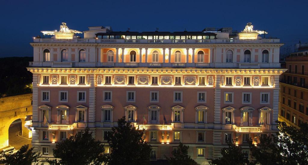 Grand Hotel Tiberio Rome Italy Reviews