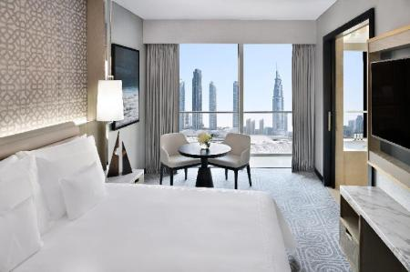 Kamar Deluxe Double - Ranjang Address Dubai Mall