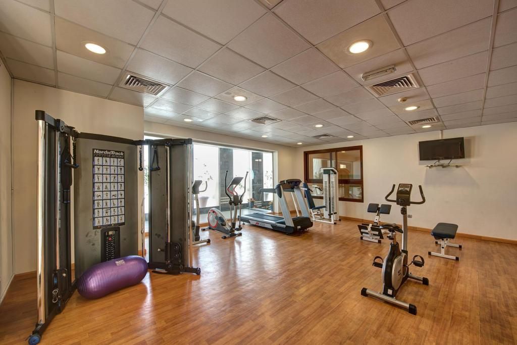 Fitness center Beach Hotel Apartment