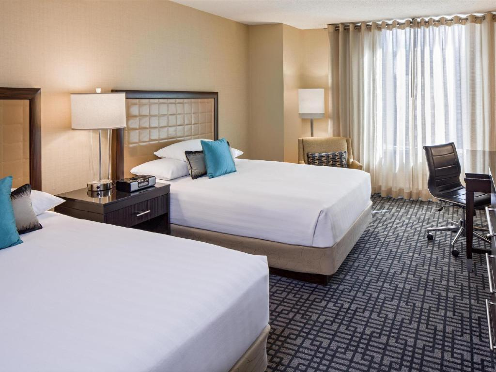 2 Double Beds Club Floor - Guestroom Hyatt Regency Washington