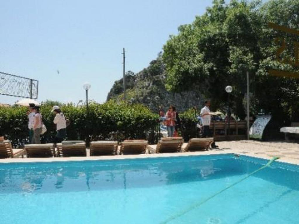 Swimming pool Dalyan Hotel Palmyra