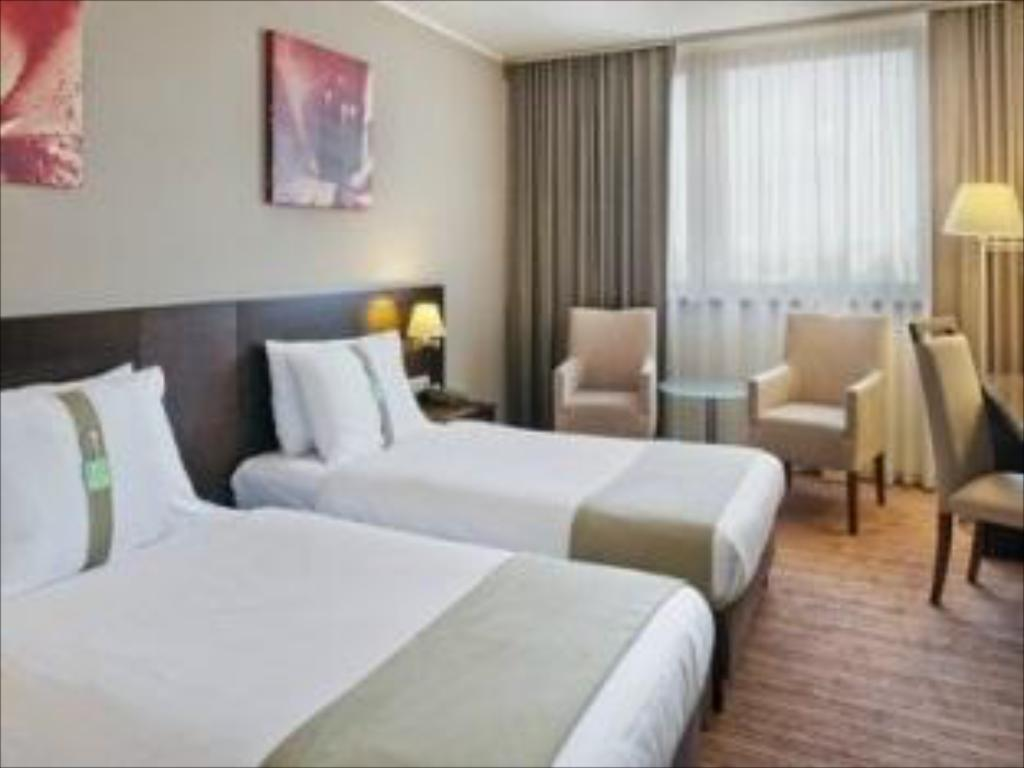 2 Single Beds Non-smoking - Bed Holiday Inn Bratislava