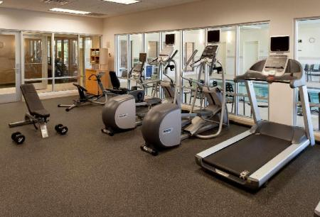 Fitness center Hilton Garden Inn Schaumburg