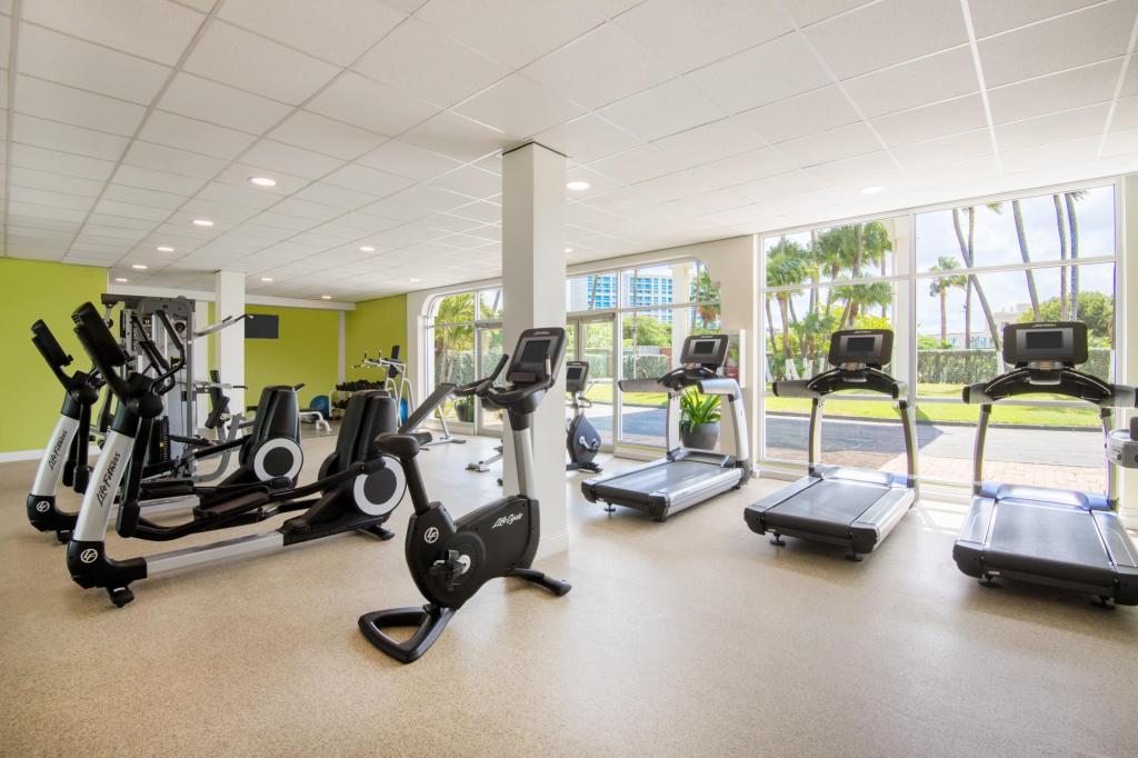 Fitness center Holiday Inn Resort Aruba - Beach Resort & Casino