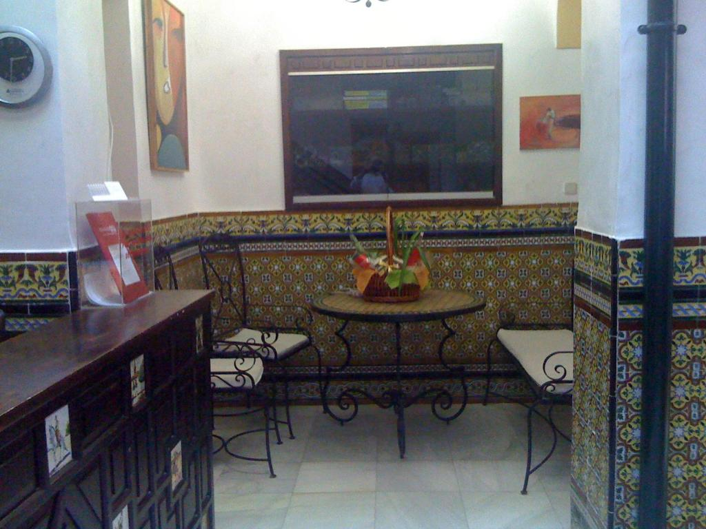 Vista Interior Hostal Atenas