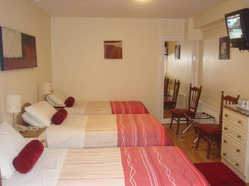 Triple Room (1 Double Bed + 2 Single Beds)