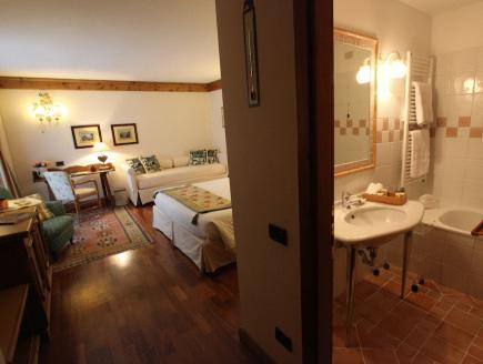 Apartmá Junior s balkonem (Junior Suite with Balcony)