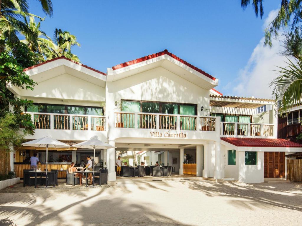 villa caemilla beach boutique hotel in boracay island. Black Bedroom Furniture Sets. Home Design Ideas