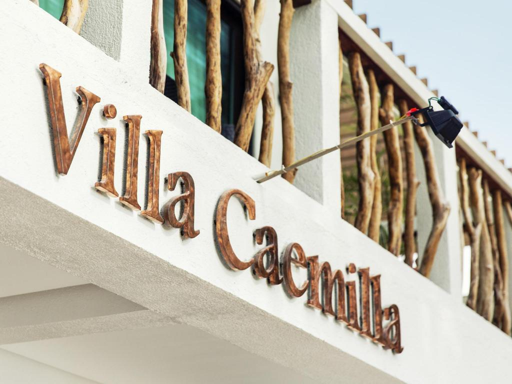 Интериор на хотела Villa Caemilla Beach Boutique Hotel