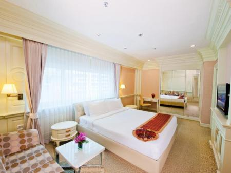 Superior Room - Bed Kingston Suites Hotel Bangkok