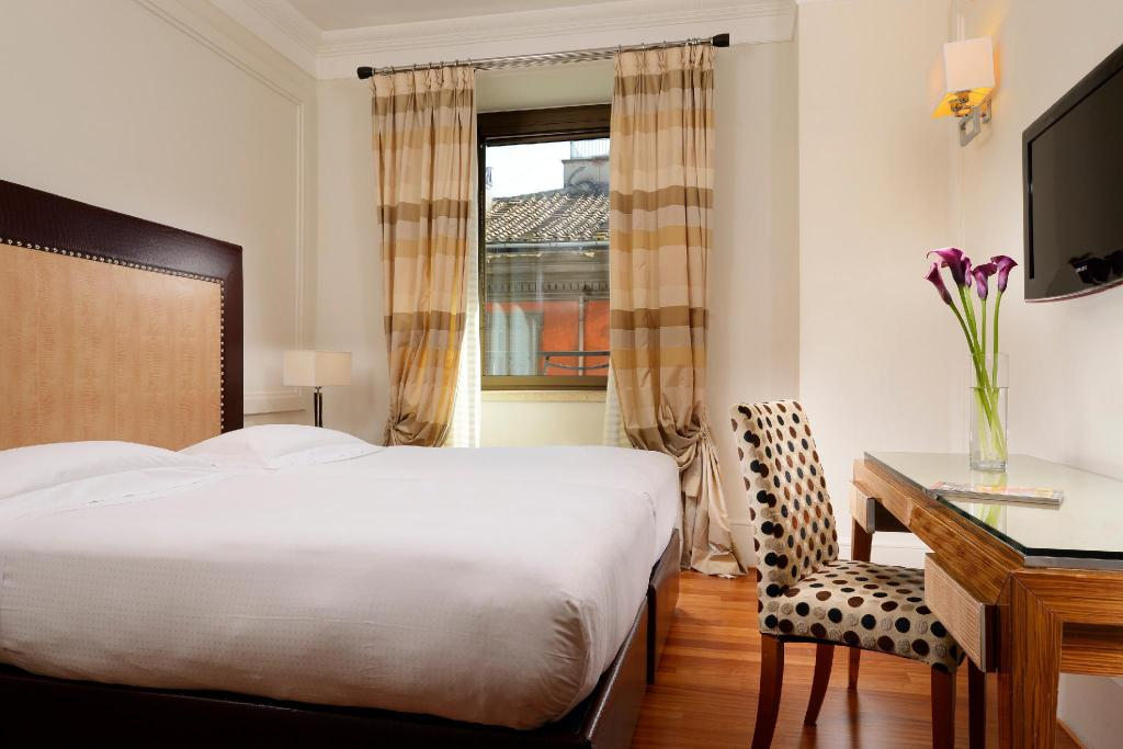 Classic Double Single Use - Bed UNAHOTELS Decò Roma