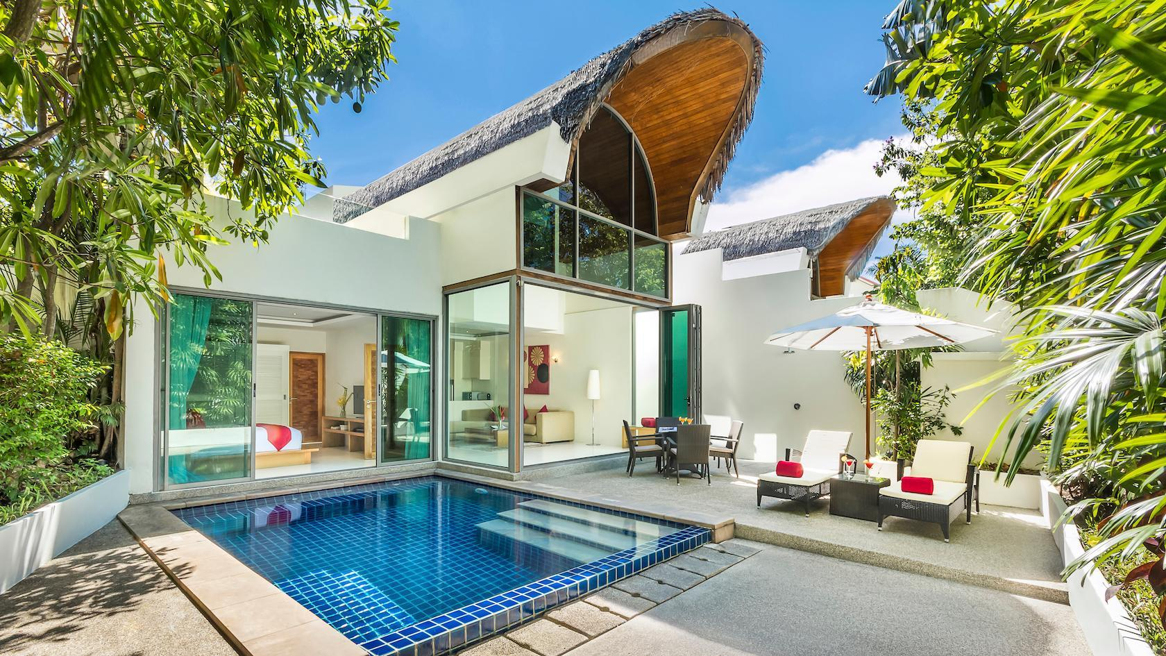 2-Bedroom Modern Villa with Pool