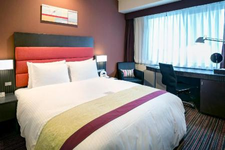 Standard Double - Non-Smoking - Room plan Holiday Inn OSAKA NAMBA