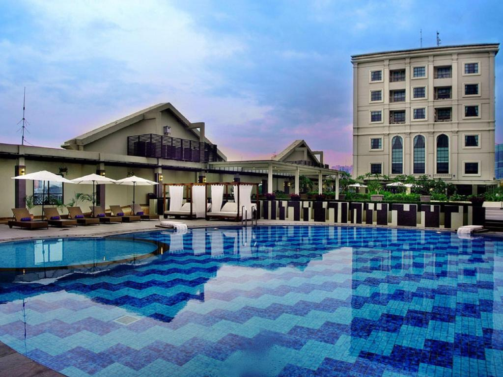 Swimming pool Grand Aston City Hall Hotel & Serviced Residences