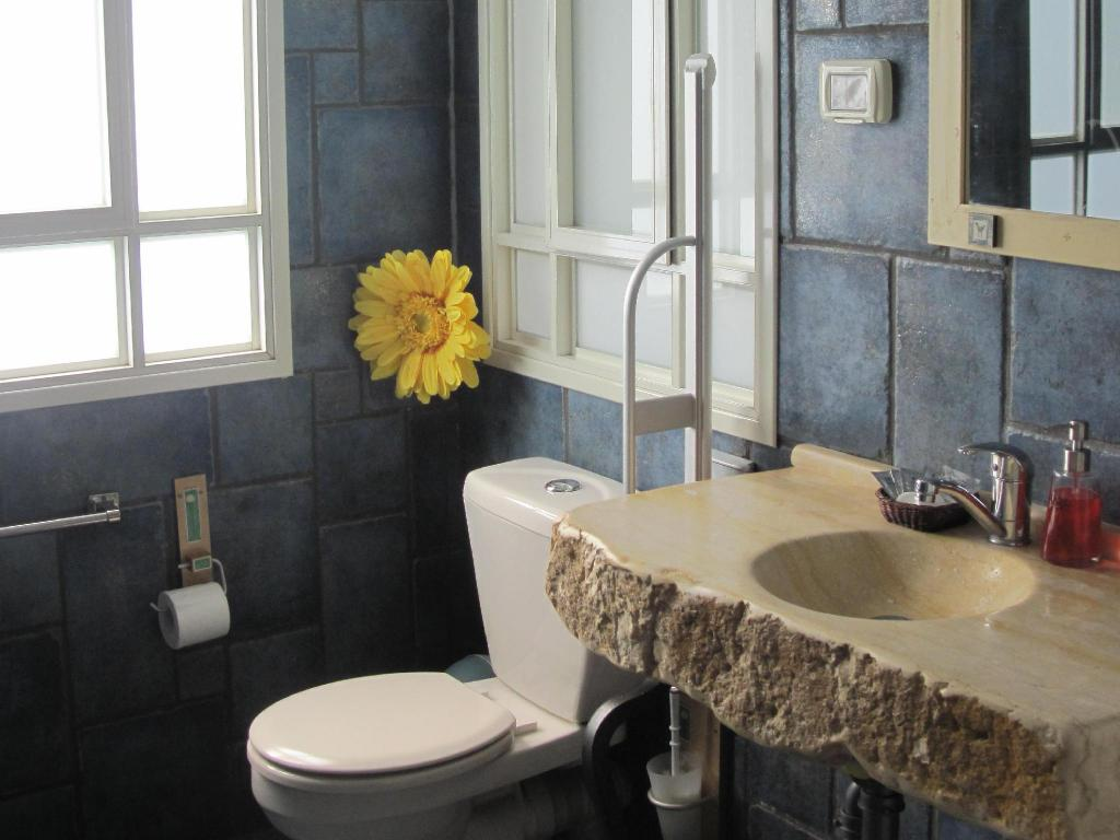 Single Room - Bathroom Golan Rooms at Sagi Farm by KHC