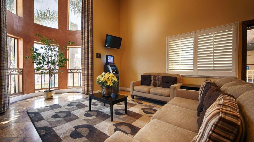 Lobby Best Western Burbank Airport Inn