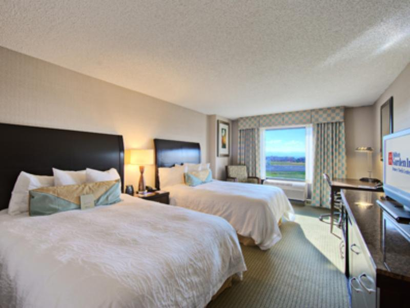 2 Double Beds   Guestroom Hilton Garden Inn Denver Tech Center