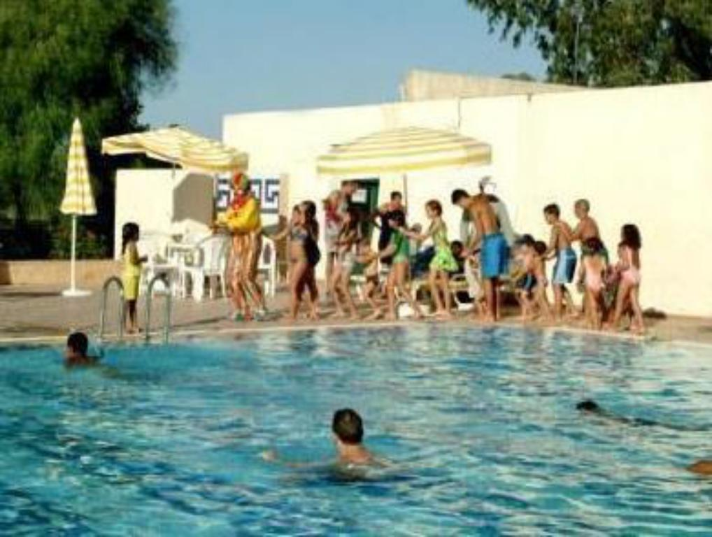 Swimmingpool Hotel Moulay Yacoub