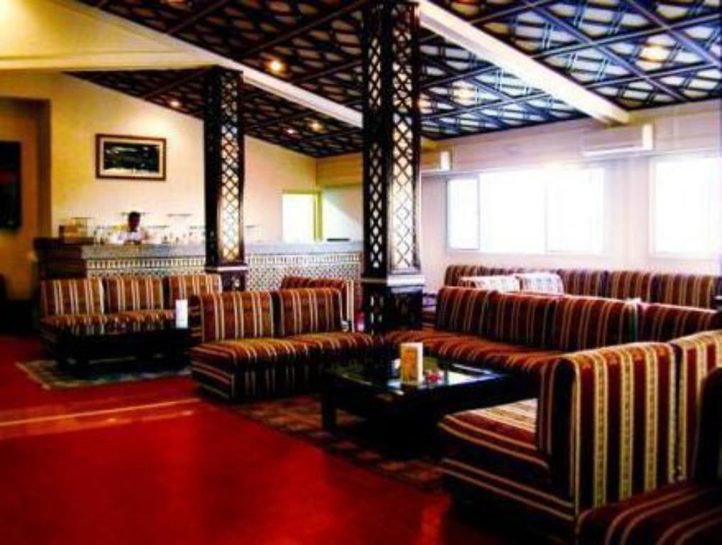 Hotellet indefra Hotel Moulay Yacoub