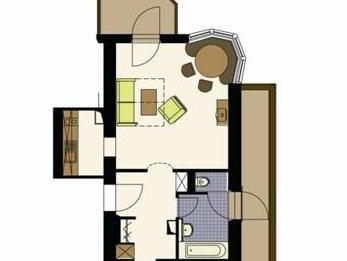 Family Apartment with Balcony (2 Adults & 2 Children 12 years)