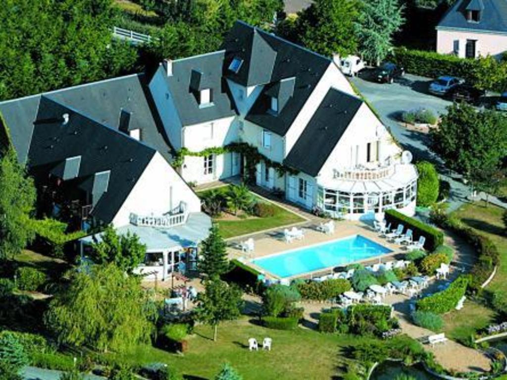 Les Terrasses De Saumur Logis Hotel Restaurant Spa France