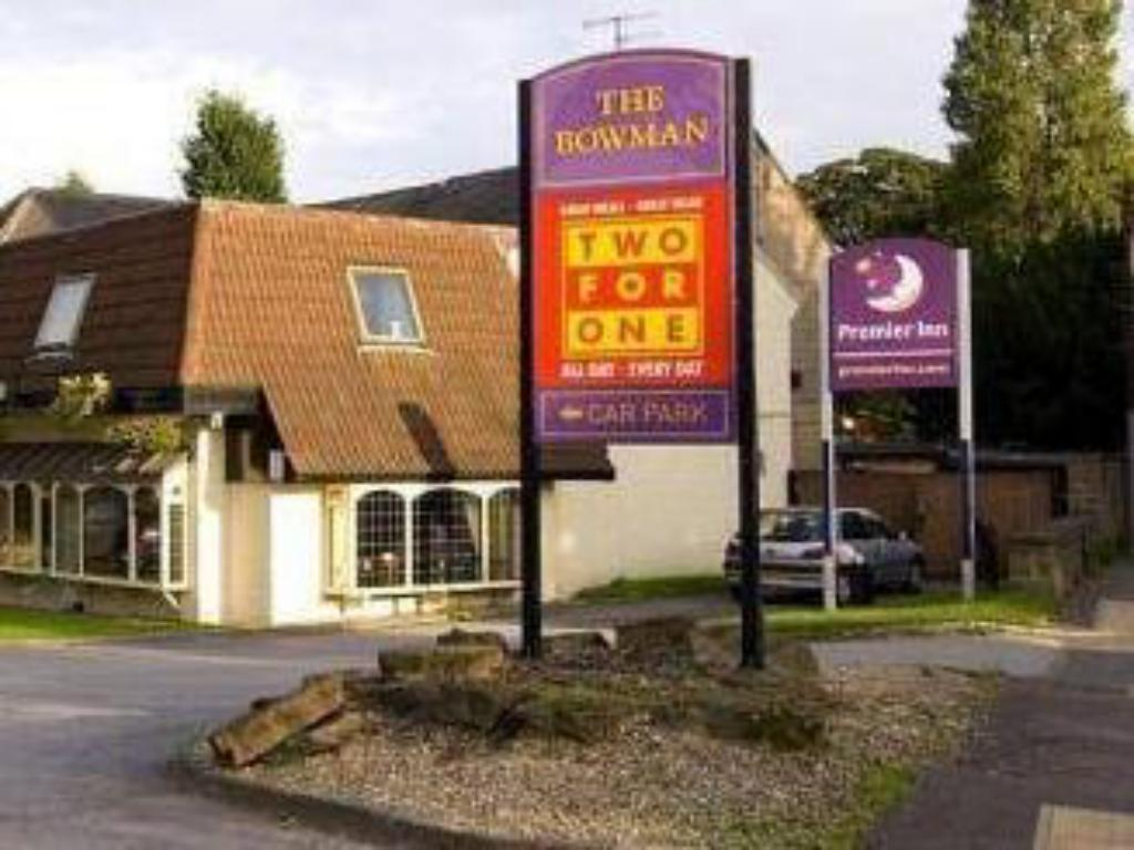 Viesnīcas āriene Premier Inn Nottingham North West - Hucknall
