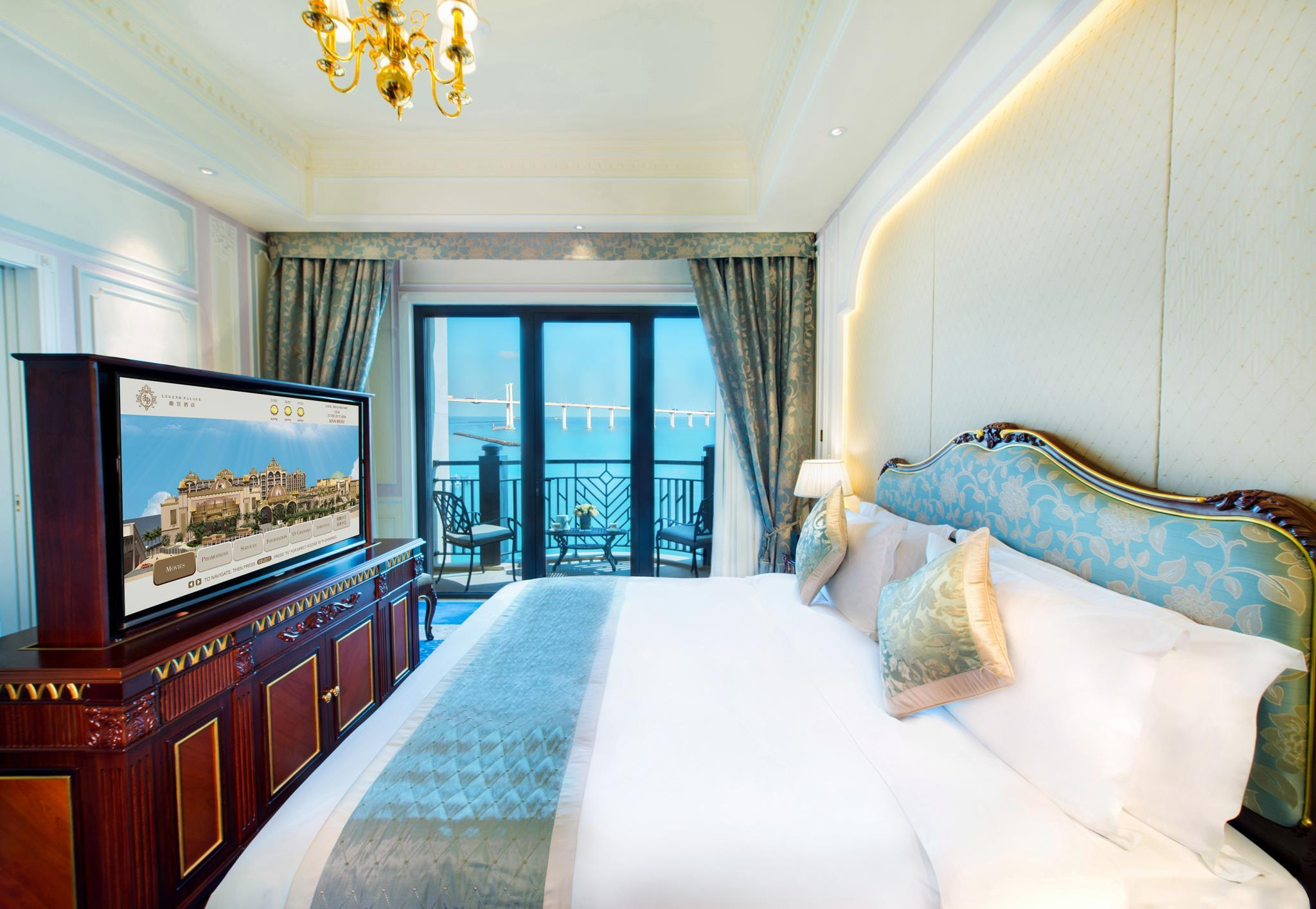 King Executive Room with Sea View