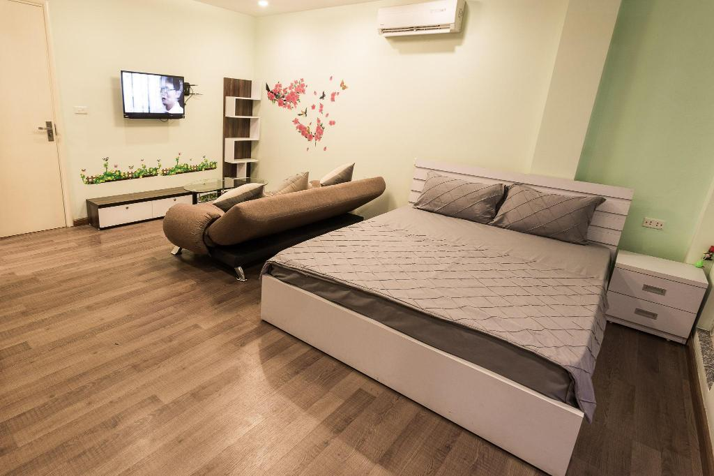 Apartament z tarasem - Pokój gościnny The Nguyens Apartments Hanoi Old Quarter