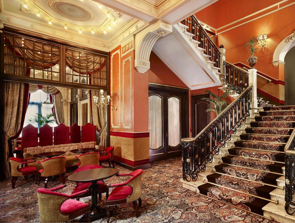 Interior view Hotel Des Indes a Luxury Collection Hotel The Hague