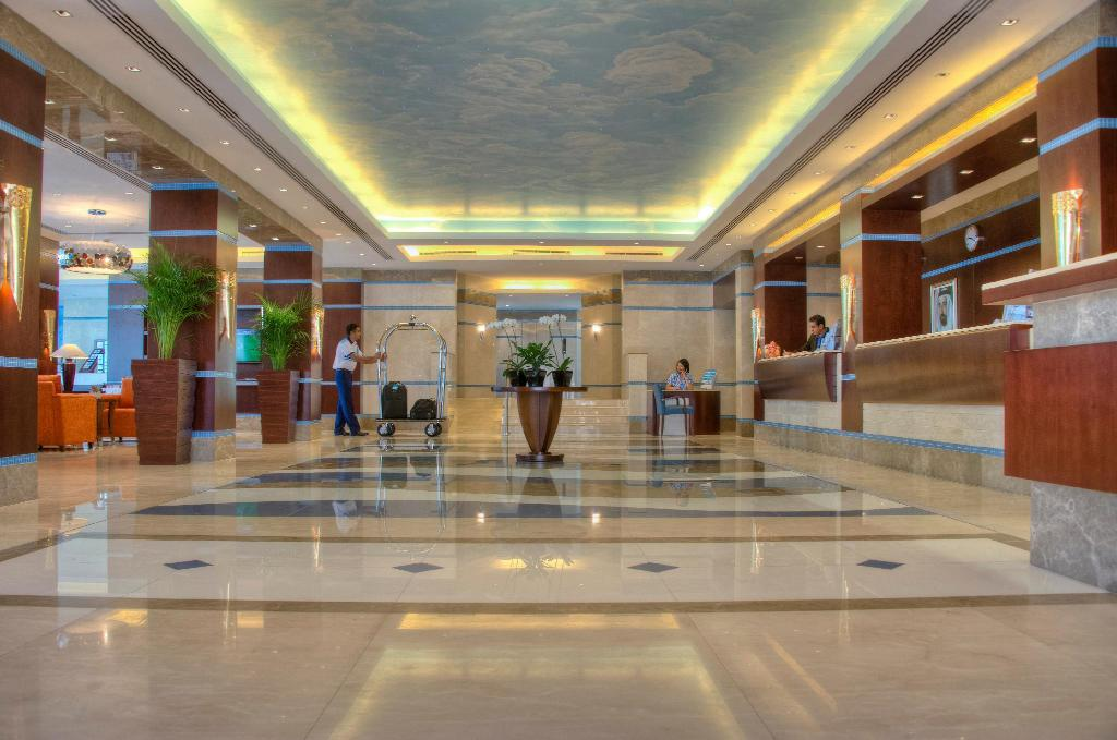 Lobby Oceanic Khorfakkan Resort & Spa