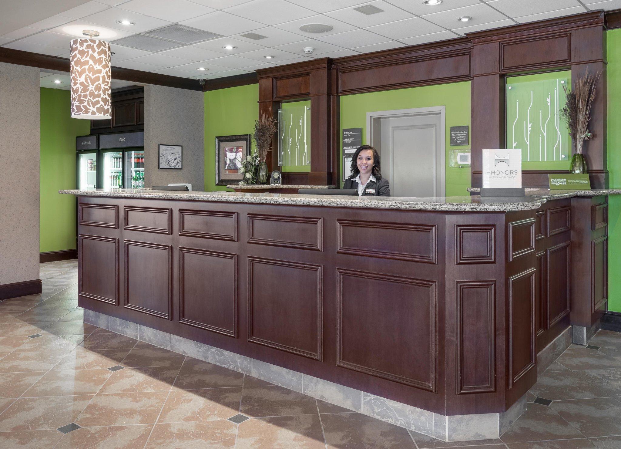 Lobby Hilton Garden Inn Sioux City Riverfront