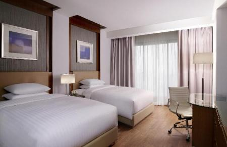 Deluxe, Guest room, 1 King or 2 Double - Room plan Courtyard Seoul Times Square