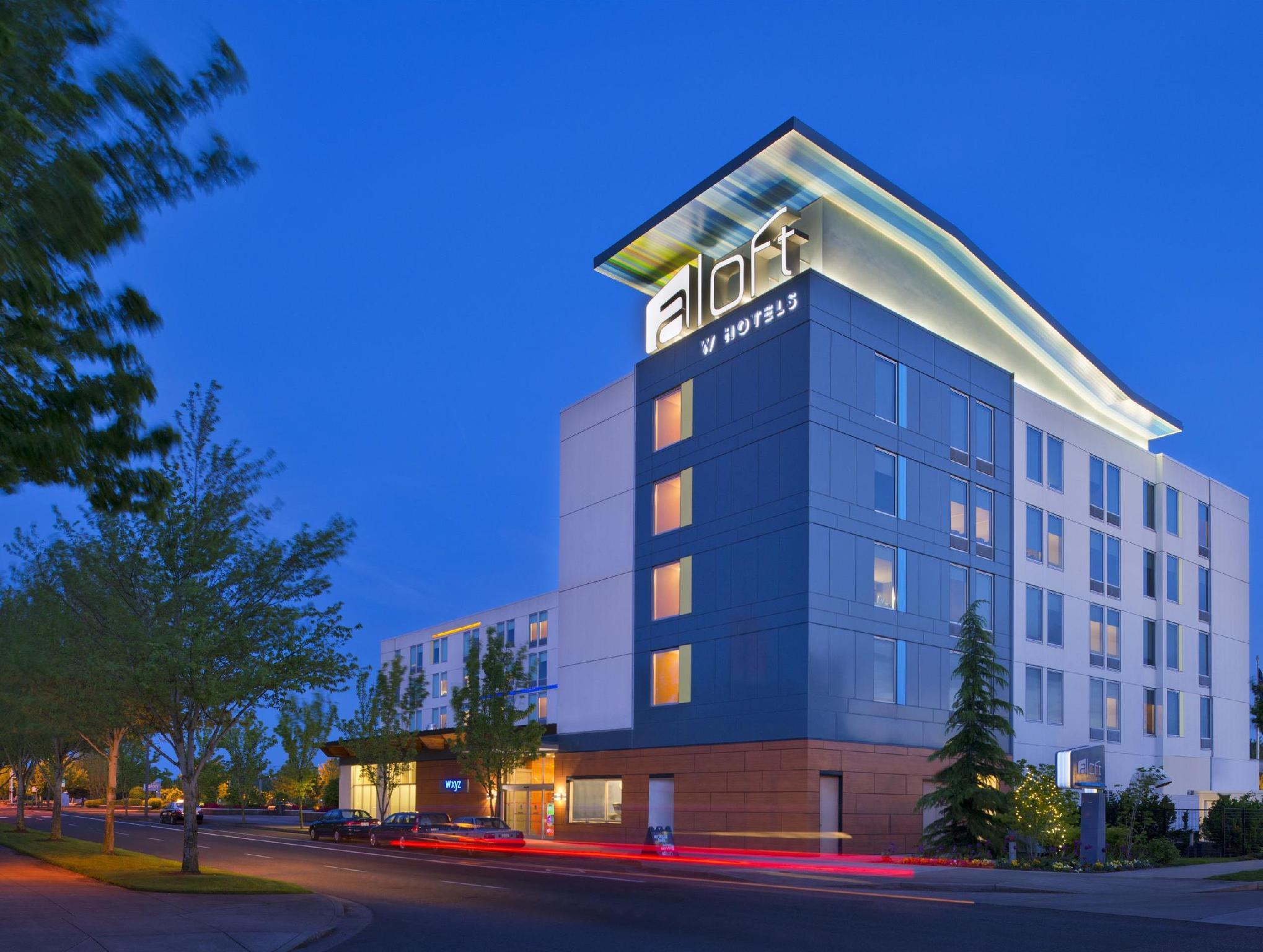 aloft portland airport hotel at cascade station in. Black Bedroom Furniture Sets. Home Design Ideas