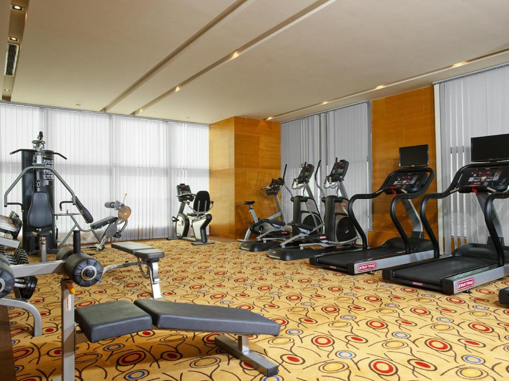 Sala de fitnes Holiday Inn Xi'an Greenland Century City