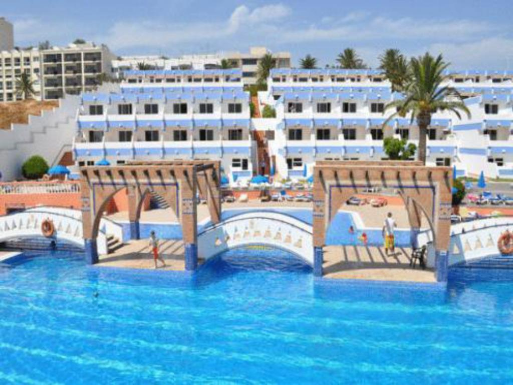 Swimming pool Hotel Almoggar Garden Beach