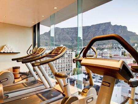 Fitness center Pepperclub Hotel
