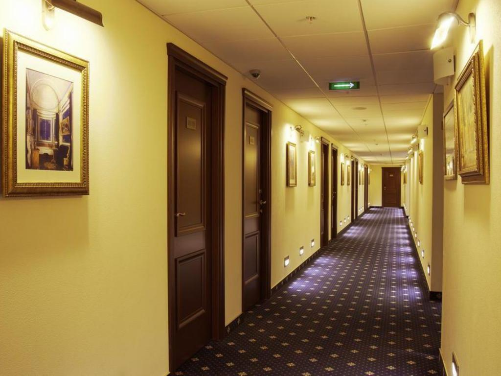 Hotellet indefra Onegin Hotel