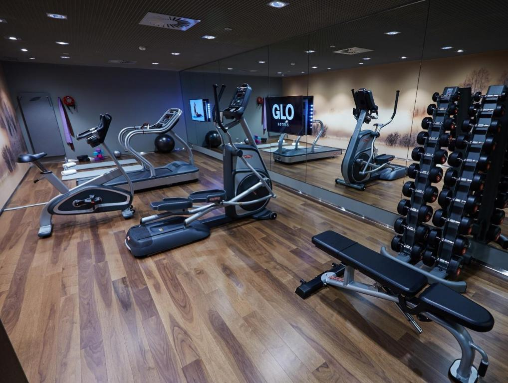 fitness centrum Glo Hotel Airport