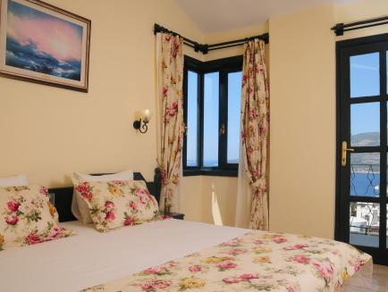Standarta Double vai Twin numurs ar jūras skatu (Standard Double or Twin Room with Sea View)