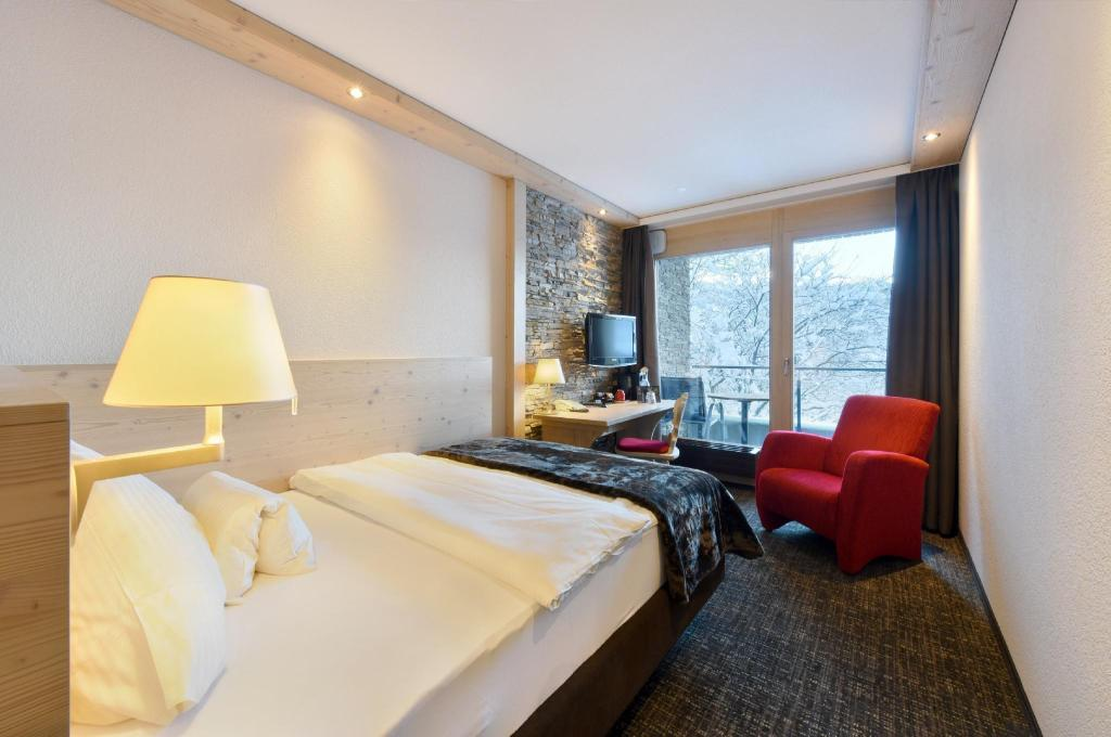 Superior Single Room - Bed Hotel Eiger