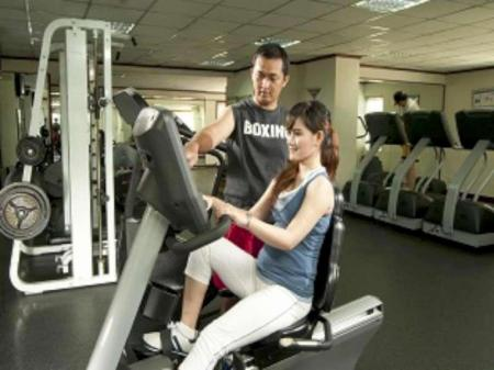 Fitness center The Residences at Puri Casablanca