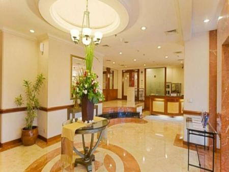 Lobby The Residences at Puri Casablanca